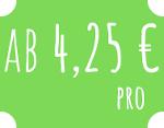 Ab 4,25 €